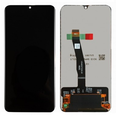 Ansamblu Display LCD + Touchscreen Huawei P Smart 2020 POT-LX1A Black Negru . Ecran + Digitizer Huawei P Smart 2020 POT-LX1A Black Negru