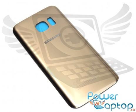 Capac Baterie Samsung Galaxy S7 G930 Gold. Capac Spate Samsung Galaxy S7 G930 Gold