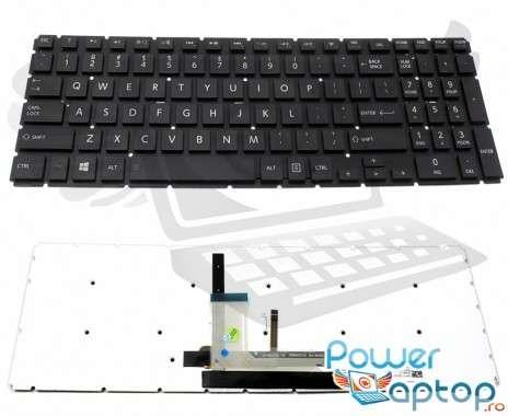 Tastatura Toshiba Radius P50W iluminata. Keyboard Toshiba Radius P50W. Tastaturi laptop Toshiba Radius P50W. Tastatura notebook Toshiba Radius P50W