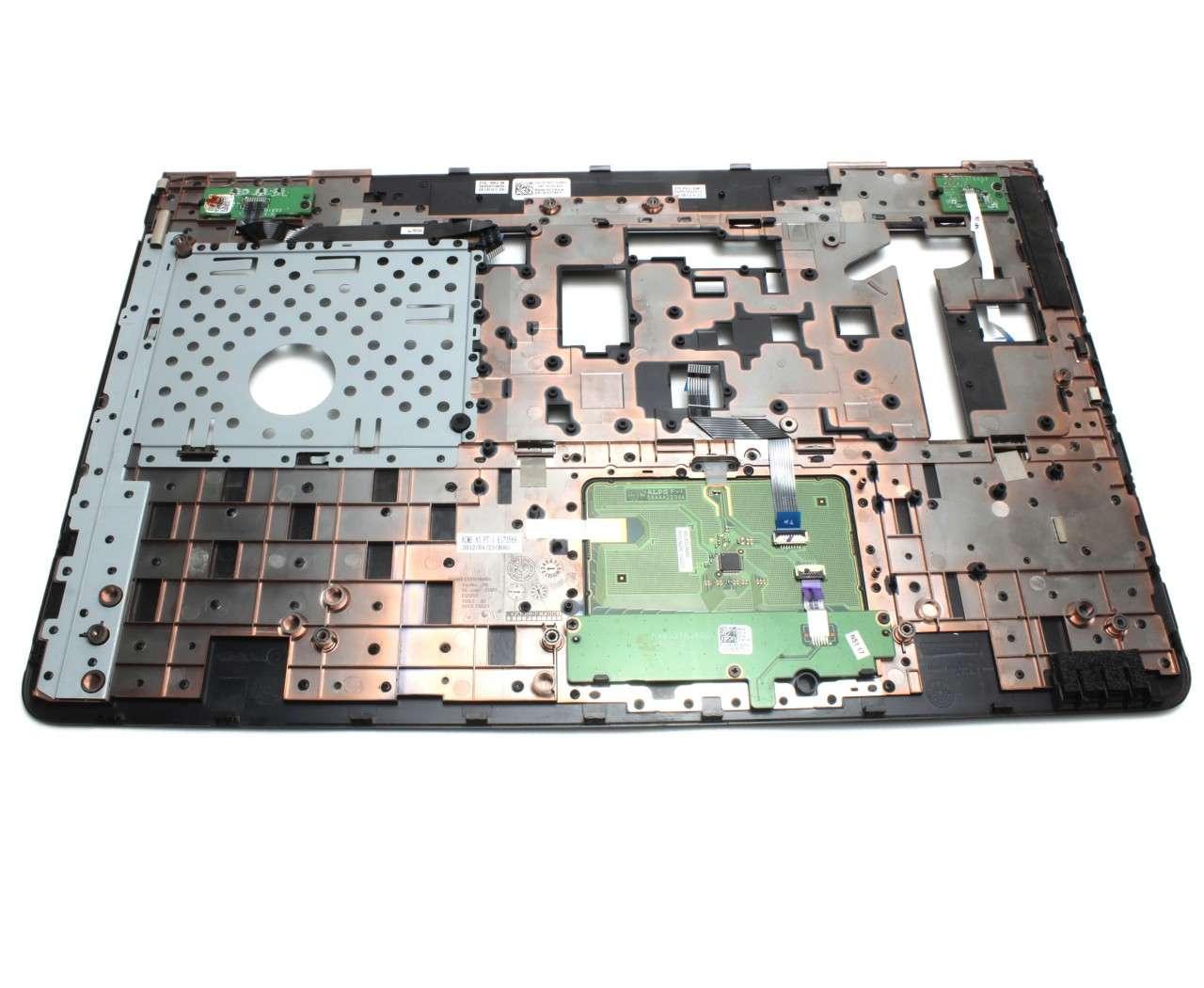 Palmrest Dell AR03003010 Negru cu touchpad imagine powerlaptop.ro 2021