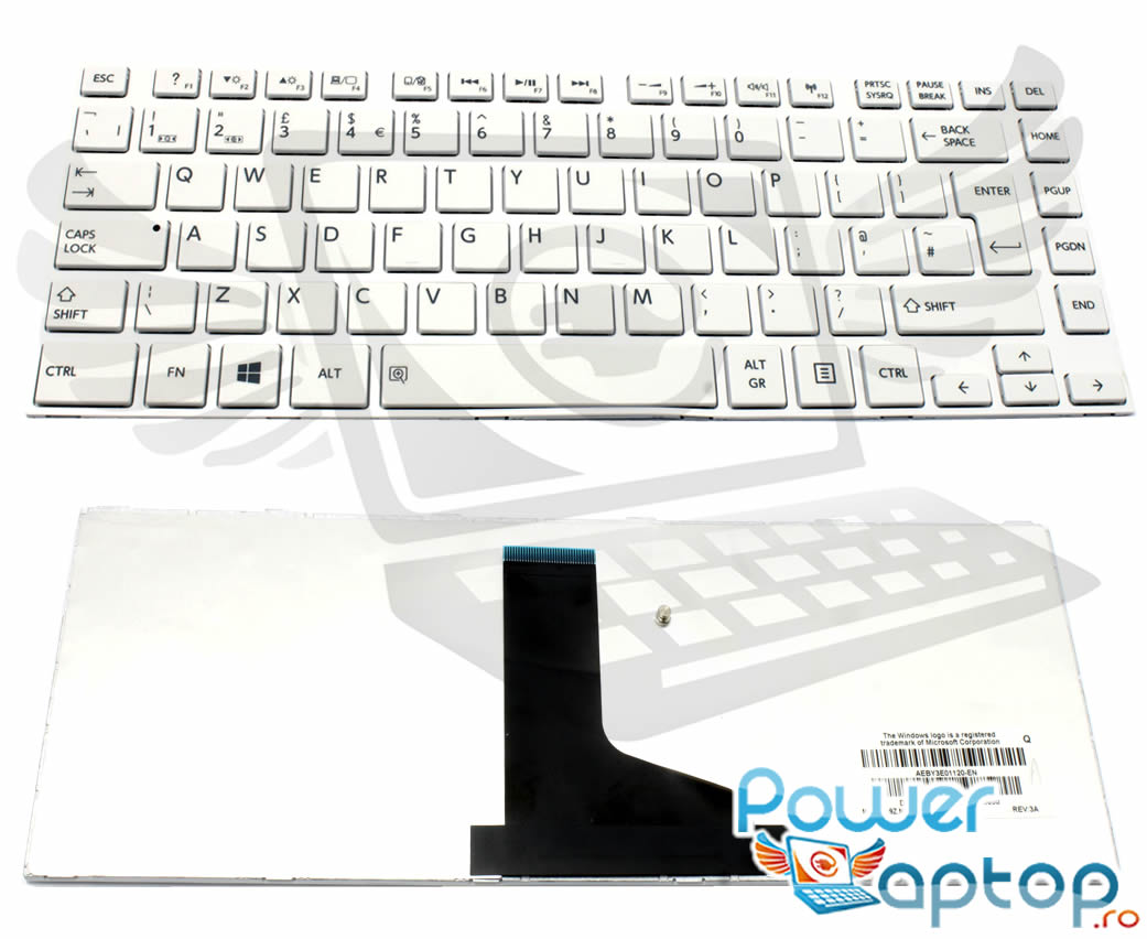 Tastatura Toshiba Satellite M805 Alba imagine