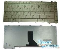 Tastatura Toshiba Satellite A35 alba. Keyboard Toshiba Satellite A35 alba. Tastaturi laptop Toshiba Satellite A35 alba. Tastatura notebook Toshiba Satellite A35 alba