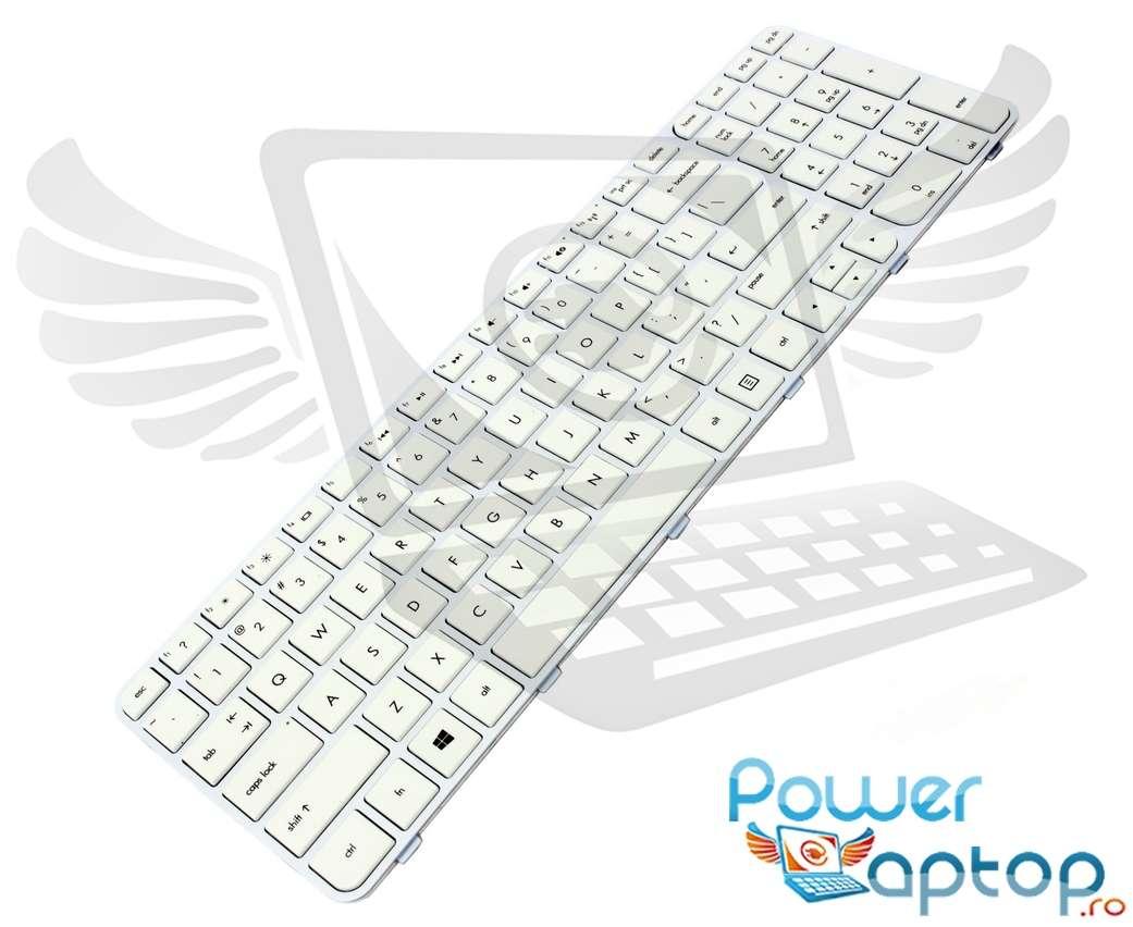 Tastatura HP 699498 251 alba imagine powerlaptop.ro 2021