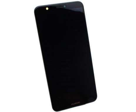 Ansamblu Display LCD + Touchscreen Original Service Pack HUAWEI P SMART 2018 FIG-LX1 Black Negru. Ecran + Digitizer Original Service Pack HUAWEI P SMART 2018 FIG-LX1 Black Negru