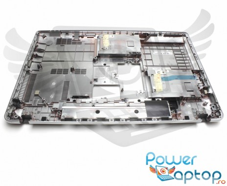 Bottom Toshiba Satellite P875. Carcasa Inferioara Toshiba Satellite P875 Argintie