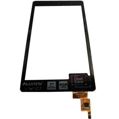 Digitizer Touchscreen Allview Viva C7 Quad cu rama Swap Original. Geam Sticla Tableta Allview Viva C7 Quad cu rama Swap Original