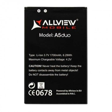 Baterie Allview A5 Duo. Acumulator Allview A5 Duo. Baterie telefon Allview A5 Duo. Acumulator telefon Allview A5 Duo. Baterie smartphone Allview A5 Duo