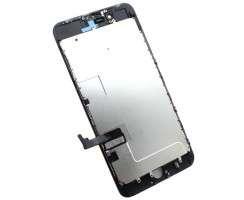 Display iPhone 8 Plus Complet, cu tablita metalica pe spate, conector pentru amprenta si ornamente camera si casca.