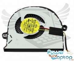 Cooler laptop Acer Aspire E5 573G. Ventilator procesor Acer Aspire E5 573G. Sistem racire laptop Acer Aspire E5 573G