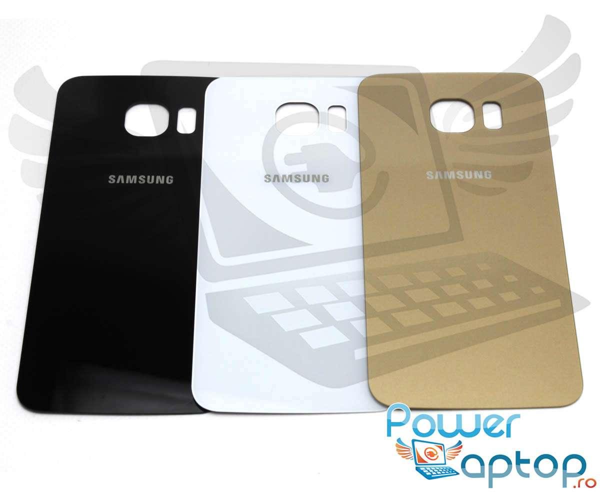 Capac Baterie Samsung Galaxy S6 G920 Black Capac Spate imagine 2021