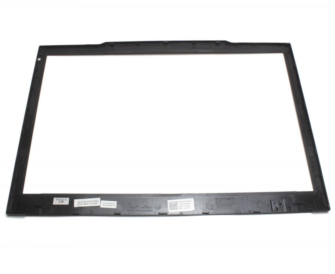 Rama Display Dell Latitude E4300 Bezel Front Cover Neagra imagine powerlaptop.ro 2021