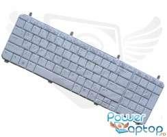 Tastatura HP Pavilion dv6 1300 CTO alba. Keyboard HP Pavilion dv6 1300 CTO alba. Tastaturi laptop HP Pavilion dv6 1300 CTO alba. Tastatura notebook HP Pavilion dv6 1300 CTO alba