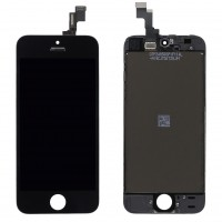 Ansamblu Display LCD + Touchscreen Apple iPhone 5S Negru Black. Ecran + Digitizer Apple iPhone 5S Negru Black