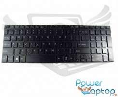 Tastatura Sony Vaio SVF15 neagra iluminata. Keyboard Sony Vaio SVF15. Tastaturi laptop Sony Vaio SVF15. Tastatura notebook Sony Vaio SVF15