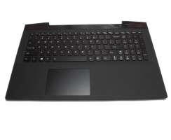 Tastatura Lenovo  AP14R000A00 neagra cu Palmrest negru iluminata backlit