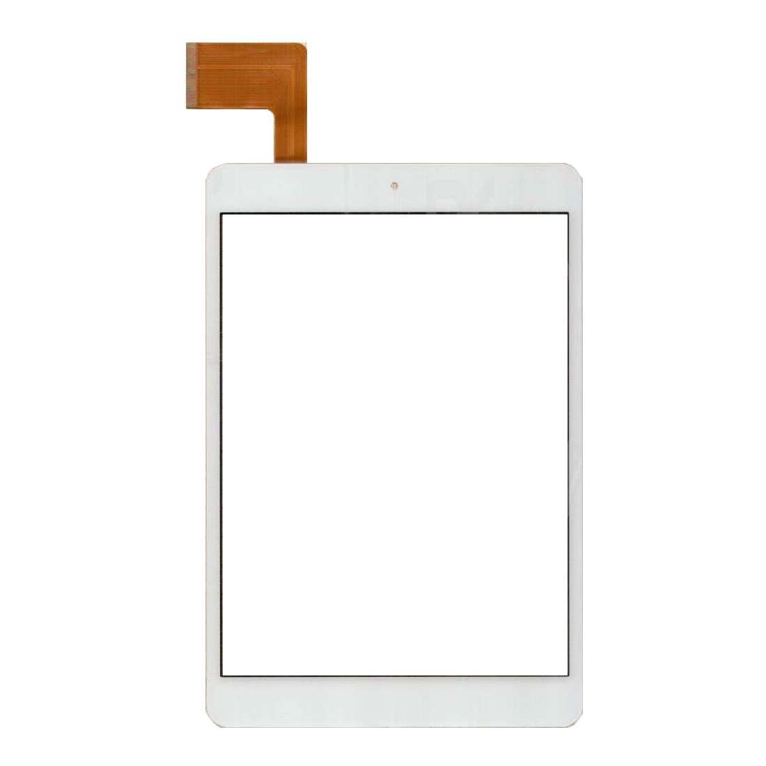 Touchscreen Digitizer nJoy Kara 8 alb Geam Sticla Tableta imagine powerlaptop.ro 2021