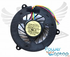 Cooler laptop Dell Studio 1537. Ventilator procesor Dell Studio 1537. Sistem racire laptop Dell Studio 1537