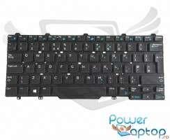 Tastatura Dell Latitude 5480 iluminata. Keyboard Dell Latitude 5480. Tastaturi laptop Dell Latitude 5480. Tastatura notebook Dell Latitude 5480