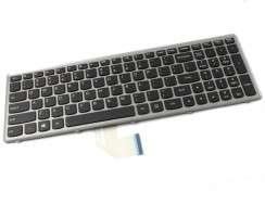 Tastatura Lenovo IdeaPad Z500 rama gri. Keyboard Lenovo IdeaPad Z500 rama gri. Tastaturi laptop Lenovo IdeaPad Z500 rama gri. Tastatura notebook Lenovo IdeaPad Z500 rama gri