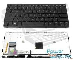 Tastatura HP EliteBook 820 G1 iluminata backlit. Keyboard HP EliteBook 820 G1 iluminata backlit. Tastaturi laptop HP EliteBook 820 G1 iluminata backlit. Tastatura notebook HP EliteBook 820 G1 iluminata backlit