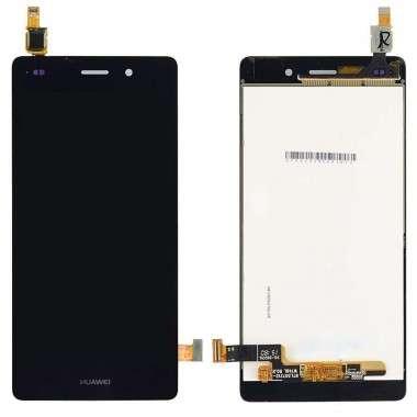 Ansamblu Display LCD + Touchscreen Huawei P8 Lite Black Negru . Ecran + Digitizer Huawei P8 Lite Black Negru