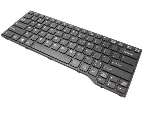 Tastatura Fujitsu Lifebook E744 neagra. Keyboard Fujitsu Lifebook E744 neagra. Tastaturi laptop Fujitsu Lifebook E744 neagra. Tastatura notebook Fujitsu Lifebook E744 neagra