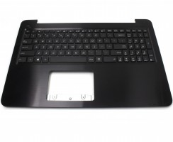 Tastatura Asus  X556UA cu Palmrest maro. Keyboard Asus  X556UA cu Palmrest maro. Tastaturi laptop Asus  X556UA cu Palmrest maro. Tastatura notebook Asus  X556UA cu Palmrest maro