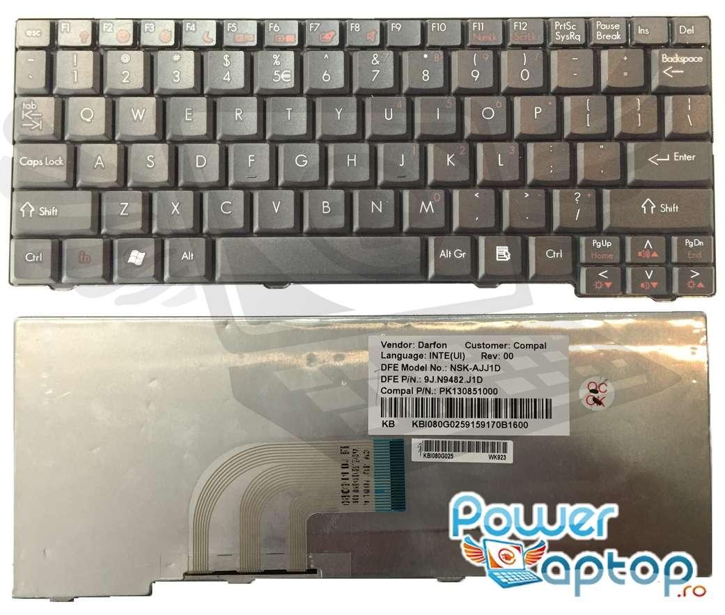 Tastatura Gateway LT2005U imagine powerlaptop.ro 2021