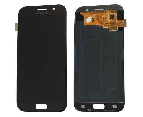 Ansamblu Display LCD + Touchscreen Samsung Galaxy A5 2017 A520 A520F Black Negru . Ecran + Digitizer Samsung Galaxy A5 2017 A520 A520F Negru Black