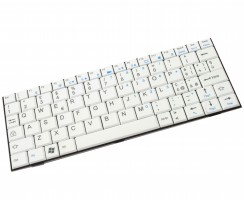 Tastatura Fujitsu  M1010 alba. Keyboard Fujitsu  M1010 alba. Tastaturi laptop Fujitsu  M1010 alba. Tastatura notebook Fujitsu  M1010 alba