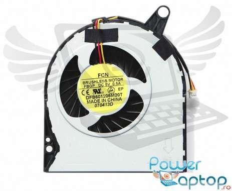 Cooler laptop Acer Aspire V3-772G. Ventilator procesor Acer Aspire V3-772G. Sistem racire laptop Acer Aspire V3-772G