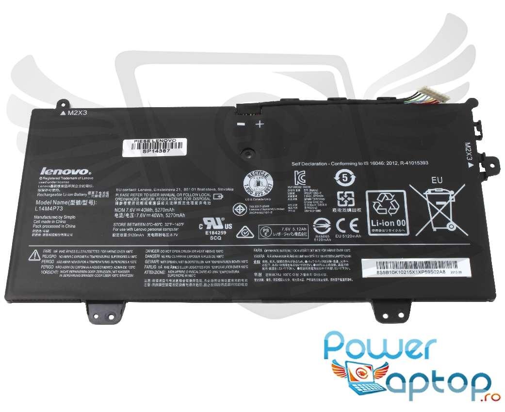 Baterie Lenovo L14M4P73 Originala imagine powerlaptop.ro 2021