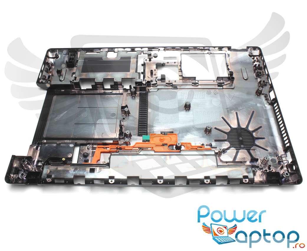Bottom Case Acer Aspire 5750ZG Carcasa Inferioara Neagra imagine