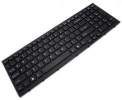 Tastatura Sony 550102M22 neagra. Keyboard Sony 550102M22 neagra. Tastaturi laptop Sony 550102M22 neagra. Tastatura notebook Sony 550102M22 neagra