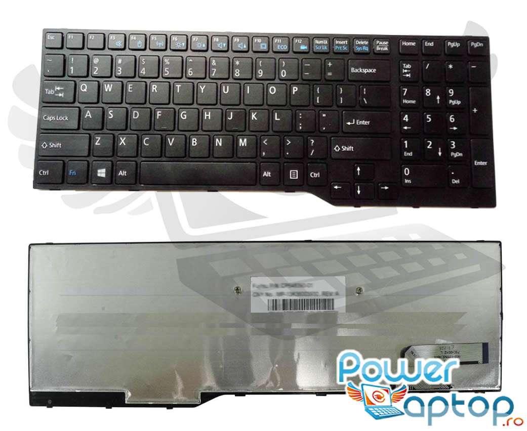 Tastatura Fujitsu Lifebook AH544 imagine powerlaptop.ro 2021