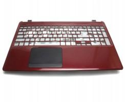 Palmrest Acer Aspire E1 532P. Carcasa Superioara Acer Aspire E1 532P Visiniu cu touchpad inclus