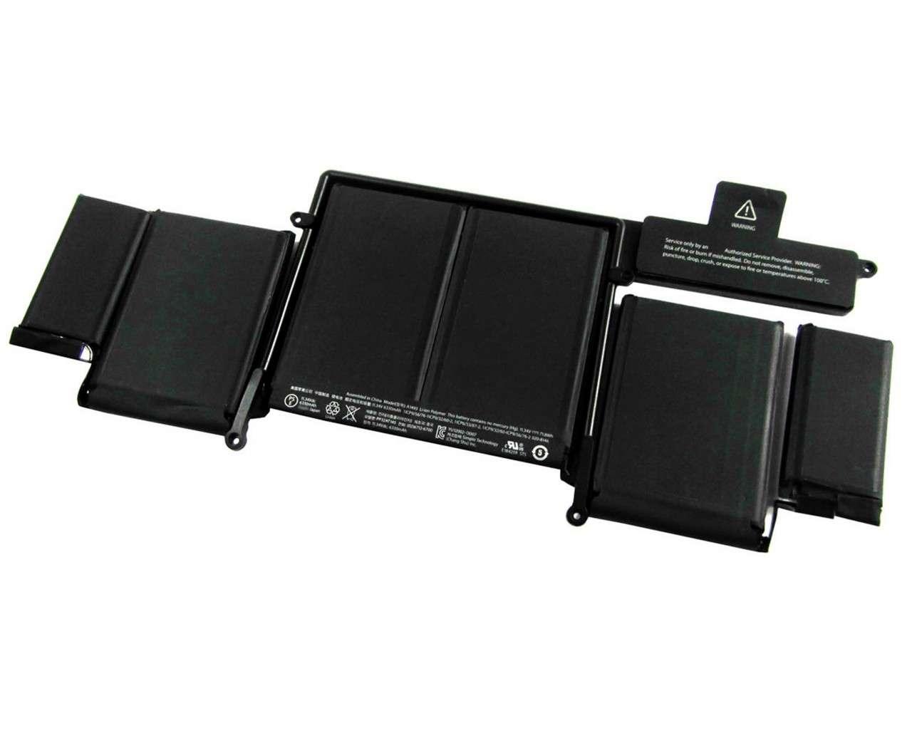 Baterie Apple MacBook Pro 13 Retina A1502 ME864 OEM imagine