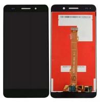 Ansamblu Display LCD + Touchscreen Huawei Y6-2 CAM-L21 Black Negru . Ecran + Digitizer Huawei Y6-2 CAM-L21 Black Negru