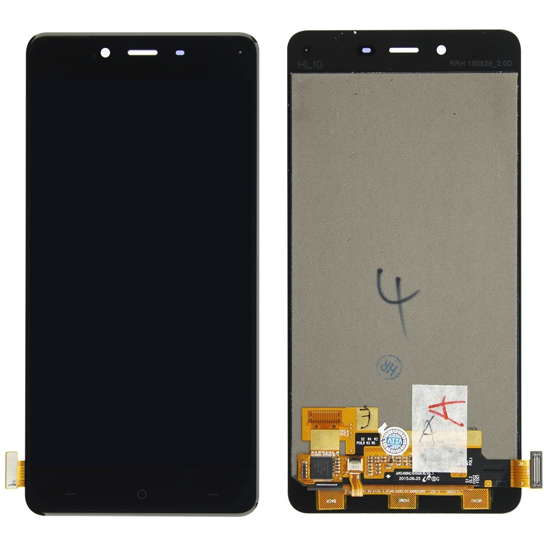 Display OnePlus X E1003 imagine