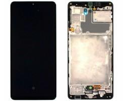 Ansamblu Display LCD + Touchscreen Original Service Pack Samsung Galaxy A42 5G A426B Black Negru. Ecran + Digitizer Original Service Pack Samsung Galaxy A42 5G A426B Black Negru