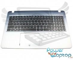 Tastatura Asus  R540SA neagra cu Palmrest gri. Keyboard Asus  R540SA neagra cu Palmrest gri. Tastaturi laptop Asus  R540SA neagra cu Palmrest gri. Tastatura notebook Asus  R540SA neagra cu Palmrest gri
