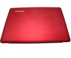 Carcasa Display Lenovo U410 pentru laptop fara touchscreen. Cover Display Lenovo U410. Capac Display Lenovo U410 Rosie