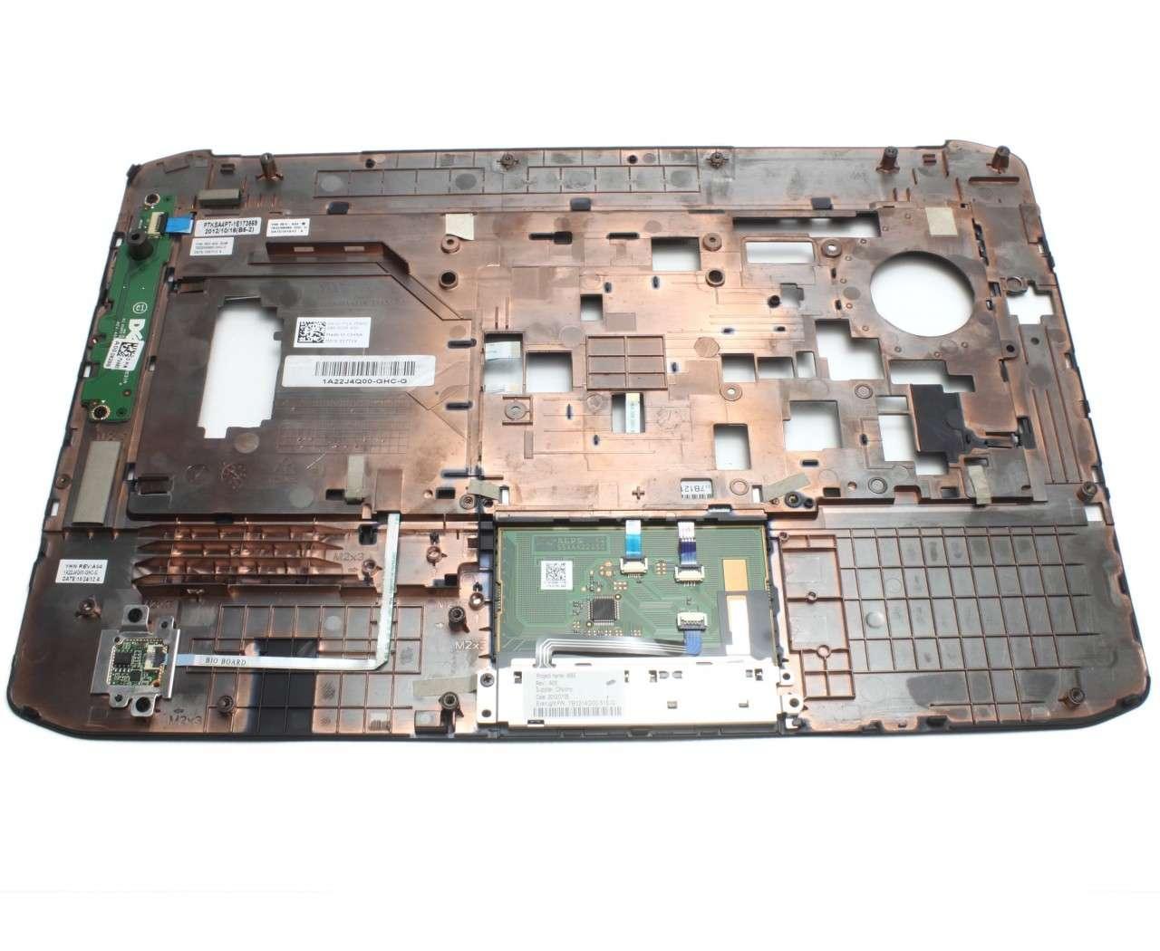 Palmrest Dell XKVWP Negru cu touchpad imagine powerlaptop.ro 2021