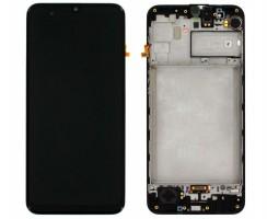 Ansamblu Display LCD + Touchscreen Original Service Pack Samsung Galaxy M31 M315 Black Negru. Ecran + Digitizer Original Service Pack Samsung Galaxy M31 M315 Black Negru