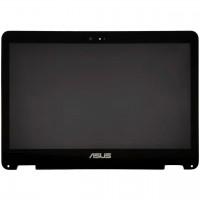 Ansamblu Display cu touchscreen FHD Asus UX360C. Modul Ecran cu touchscreen FHD laptop Asus UX360C
