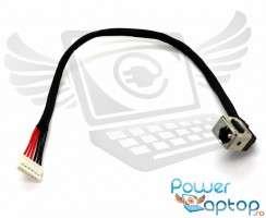 Mufa alimentare Lenovo IdeaPad V465 cu fir . DC Jack Lenovo IdeaPad V465 cu fir