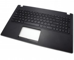 Tastatura Asus  X551MAV neagra cu Palmrest negru. Keyboard Asus  X551MAV neagra cu Palmrest negru. Tastaturi laptop Asus  X551MAV neagra cu Palmrest negru. Tastatura notebook Asus  X551MAV neagra cu Palmrest negru