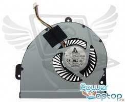 Cooler laptop Asus  X54C. Ventilator procesor Asus  X54C. Sistem racire laptop Asus  X54C