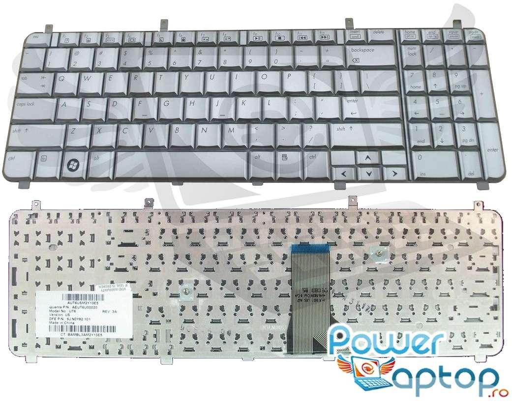 Tastatura HP Pavilion HDX16 argintie
