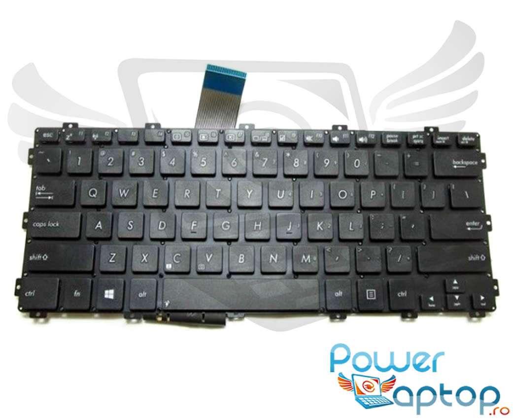 Tastatura Asus X301A layout US fara rama enter mic imagine